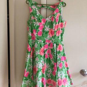 Lily Pulitzer neon dress size 10